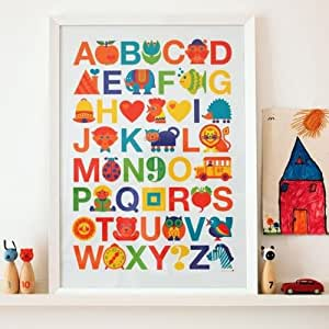ABC Poster by Graziela