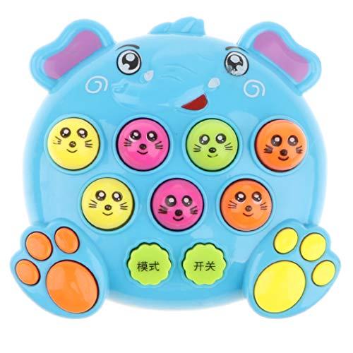 Homyl Handheld Whack a Mole Maulwurf Spielzeug Hammerspiel Brettspiel für Kinder und Erwachsene (Handheld-brettspiele)