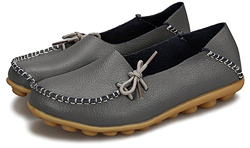 Fangsto  Loafer Flats, Basses femme Sty-1 Dark Grey