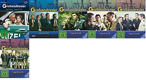 Großstadtrevier - Der Anfang + Box 1-5 Set