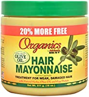 Organics Hair Mayonnaise, 511 ml