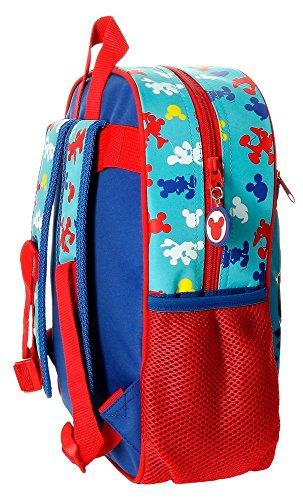 Offre de prix Disney Mickey Twist Sac à dos pour enfants, 33 cm, 9,8 litres, multicolore (multicolore)
