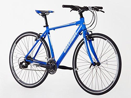 Greenway modelo 2016 – Bicicleta de ciudad de aleación híbrida, 700 c, 21velocidades Shimano