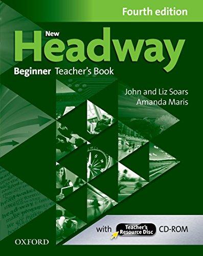 New Headway Beginner : Teacher's Book (1Cédérom) par Liz Soars