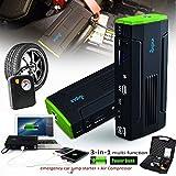 Best Compresseurs mobiles - Indigi® Portable 12800mAh Heavy Duty Compresseur Pneu voiture Review