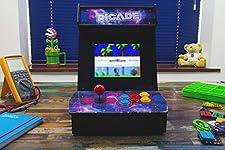 Pimoroni picade. The Raspberry Pi desktop Arcade.