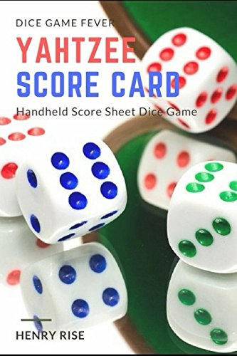 Price comparison product image Yahtzee Score Card: Handheld Score Sheet Dice Game (Yahtzee Dice Game)