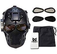 Army of Two Airsoft máscara protectora Gear Sport Party Fancy exterior Ghost Máscaras Bb Gun