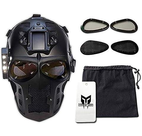Army of Two airsoft maschera protettiva ingranaggi, maschere operato dal partito Paintball e pistola