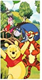 Winnie the Pooh Badetuch, Duschtuch, 70 x 140 cm (Variante 1)