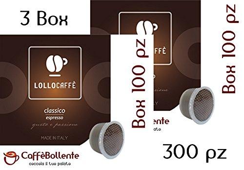 Lollo Caffè - Classico espresso - Capsula FAP Lavazza Espresso Point - 300 pz (3x100 pz)