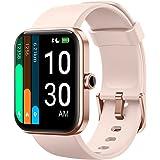 YAMAY Smartwatch Donna Uomo con Saturimetro Alexa Integrata Orologio Fitness Android iOS Contapassi Cardiofrequenzimetro, Sfo