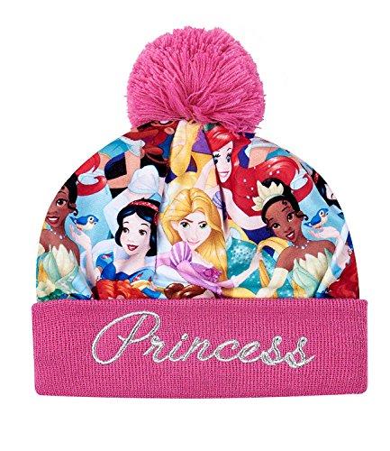 Disney princess ragazze berretto di lana - fucsia - 52