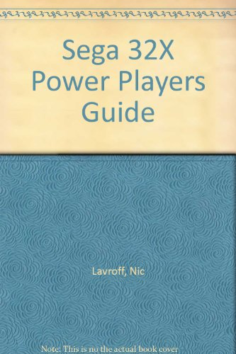 Sega 32X Power Players Guide