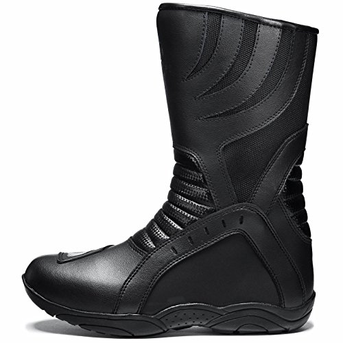 Agrius Bravo Motorcycle Boots 43 Black (UK 9) - 2