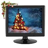 Wendry Display del Computer, Display LCD TFT a Contrasto 1024x768 a risoluzione da 15 Pollici Supporto Ingresso VGA per Monitor TVCC, Monitor per Computer o Uso Interno(UE)