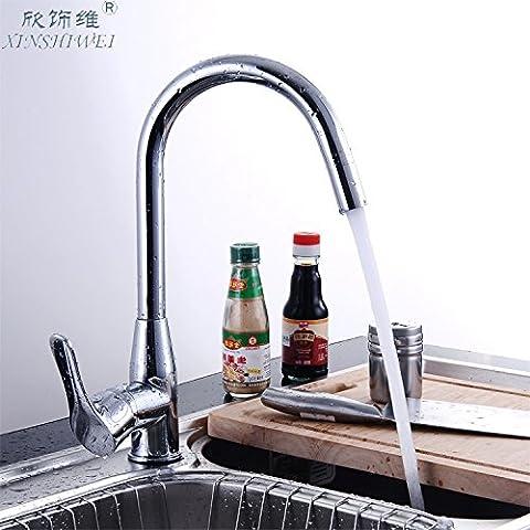 LIVY Piombo cibo ciotola rame rubinetto calda e fredda rubinetto lavello