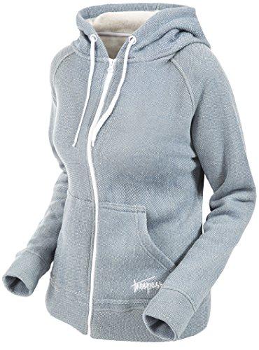 Trespass Thurman Sweat-Shirts à Capuche Femme, Gris Quartz Taché, S