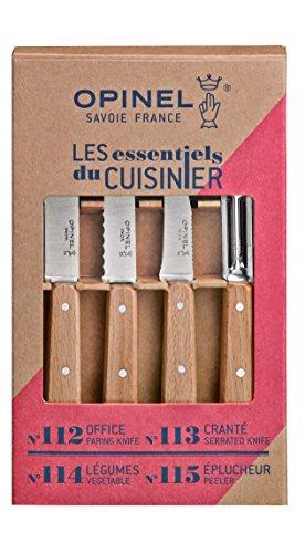 Opinel 254152 Set 4 coltelli da cucina