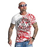 Yakuza Original Yakuza Club T-Shirt , Weiß - 5XL