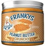 Frankys Bakery Naturbelassene Peanut Butter Erdnussbutter Einfach Ungesättigten Fettsäuren Protein 450g (Erdnussbutter Crunchy)