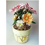 Blumen Kalte Porzellan Miniatur