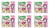 120 Windeln für kleines Mädchen Misura 3 Huggies Bimba Windel Größe Dritte Angebot