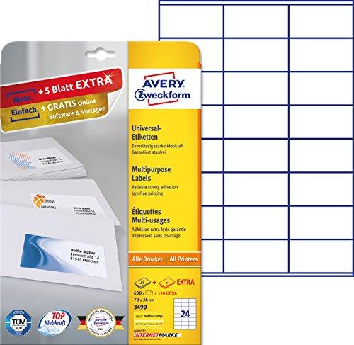 avery-zweckform-3490-adressetiketten-a4-600-plus-120-etiketten-extra-70-x-36-mm-30-blatt-weiss