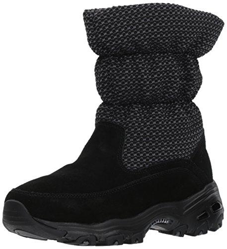 Skechers D'Lites, Botas para Mujer, Negro (Black), 38.5 EU