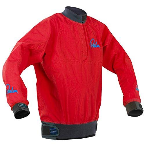 Palm Kajak oder Kajakfahren - Vector Kids Junior Junior Kajakmantel Jacke Mantel Rot - Leichtgewicht. Wasserdicht und atmungsaktiv