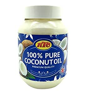 KTC Pure 100% Coconut Multipurpose Oil 500ml (Pack of 4)