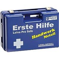 Leina-Werke Erste-Hilfe-Koffer Metallverarbeitung/REF 21107 310x210x130mm blau preisvergleich bei billige-tabletten.eu