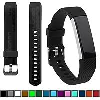DelTex® Band/Strap With Secure Adjustable Buckle Fastener For Fitbit Alta & Alta HR Activity Tracker Wristband Bracelet