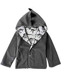 YanHoo Ropa para niños Abrigos para bebés Niños Chaqueta de Invierno cálido  Ropa de Dinosaurio niños con Capucha Caliente Outwear… 0b2d263c891