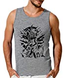 Viking MMA Fighter Camiseta sin Mangas para Hombre X-Large