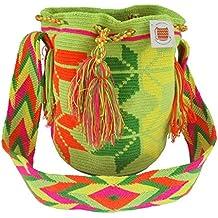 Auténtica Mochila Wayuu original de la Guajira Colombia