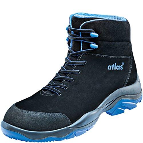 Atlas Sl 805 Xp Stivali Di Sicurezza Blu S3 Src Esd En Iso 20345 Blu Nero Blu