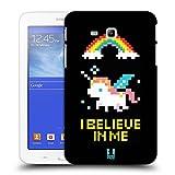 Head Case Designs Licorne Pop Trends Étui Coque D'Arrière Rigide Pour Samsung Galaxy Tab 3 Lite 7.0