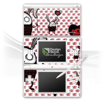 Nintendo DS Lite Design Skin Folie Aufkleber - dead bunny -
