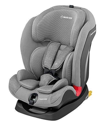 Maxi-Cosi Titan Kindersitz, 9-36 kg mit Isofix (Gruppe 1/2/3), mitwachsender Kinderautositz 123 mit Schlafposition, nomad grey