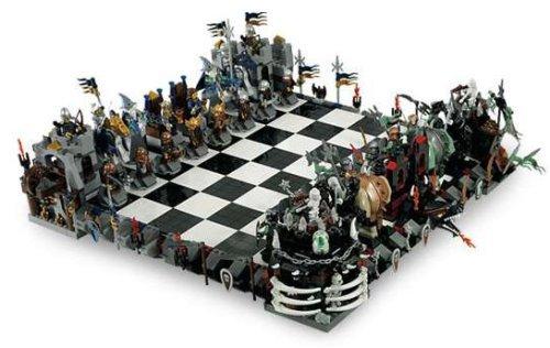 Preisvergleich Produktbild LEGO® Castle 852293 Das Große Schach Schachspiel