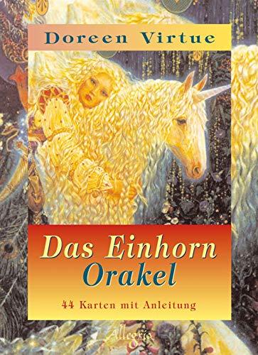 Das Einhorn Orakel - 44 Karten mit Anleitungsbuch - Einhorn-karten