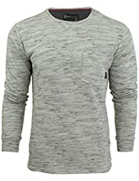 T-shirt col ras du cou à manches longues 'Forsey' par Dissident pour homme
