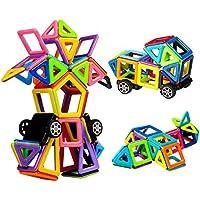 Innoo Tech 76tlg Mini Magnetische Bausteine, Magnetspielzeug Lernspielzeug
