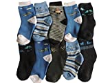 10 Paar Jungen Thermo Winter Socken Größe 23-35 (27-30)