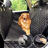 Dog Hammock Car Seat Protector Cover Waterproof Scratch-proof for Pet Rear Seat Cover