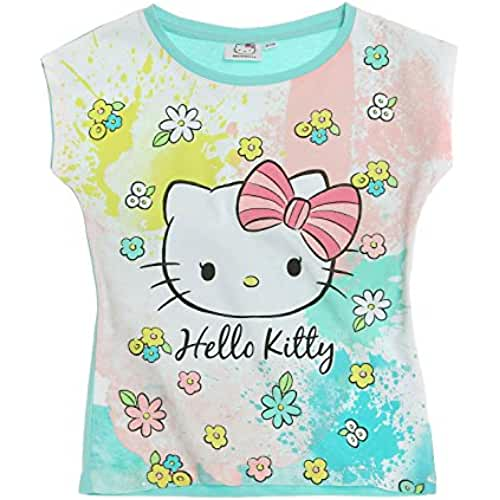 Hello Kitty Chicas Camiseta manga corta 2016 Collection - Turqueza