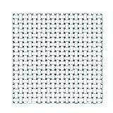 Spiegelau & Nachtmann, Servierplatte quadratisch, Kristallglas, Bossa Nova, Größe: 28 cm, 0081398-0