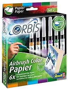 Orbis 30104-Papel Cartuchos Adicional Colores, 6Unidades