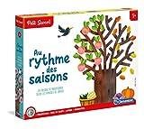 Clementoni- L'heure, Les Mois et Les Saisons-Jeu éducatif, 52295